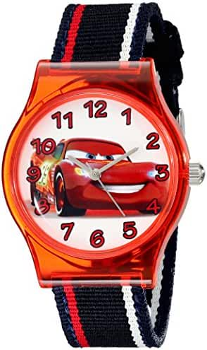 Disney Kids' W001969 Cars Analog Black Watch